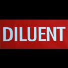 """Autocollant """"Diluant"""""""
