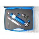 Mallette filtre ind + adaptateurs + valve AR + coude