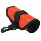 Tube de signalisation de secours, en surface, orange DIVE-RITE